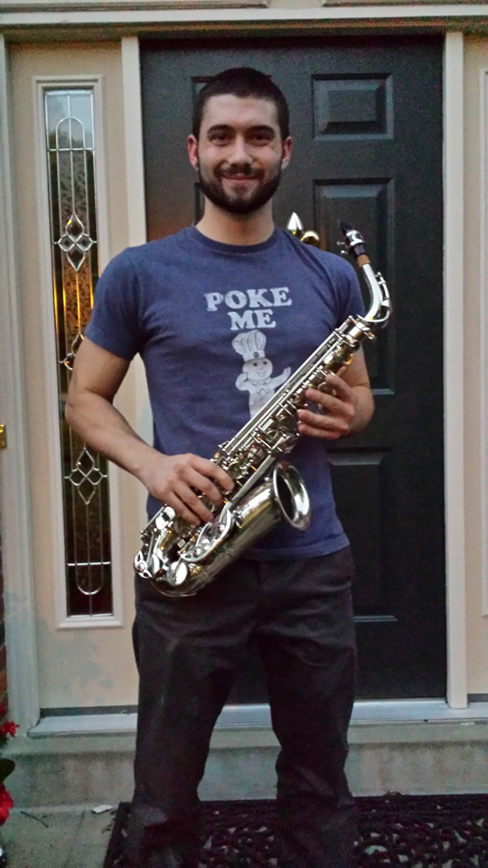Dontated Saxophone