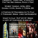 Dues Paid for Rock U Fest