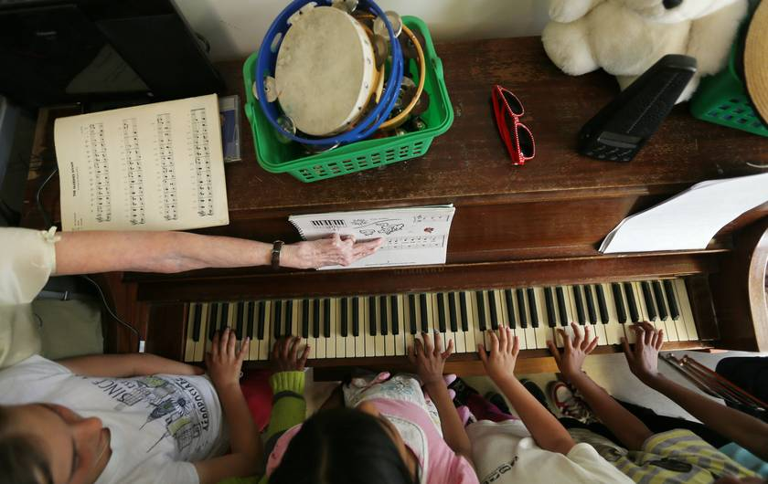 Something Amazing About What Childhood Piano Lessons Did to You