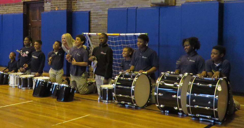 A New Drum Line for KIPP Inspire Academy