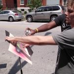 Music stand painting project with Orchestrating Diversity
